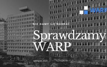 Co ukrywa WARP sp. z o.o.